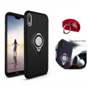 wholesale Computer & Telecommunications: BackCover Ring Huawei P20 Black