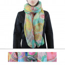 wholesale Fashion & Apparel: Scarf BLS-35 Mix Colors 12 pcs