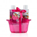 wholesale Bath Furniture & Accessories: Bath set NECTAR OF LIFE in plastic bathtub