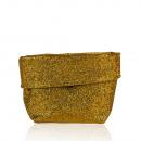 Kleines Glitter-Körbchen, gold