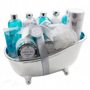 wholesale Bath Furniture & Accessories: Bath set in a large ceramic bathtub