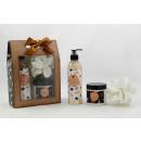 wholesale Drugstore & Beauty: Bath set GLITTER in gift box