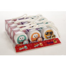 wholesale Shower & Bath: Soap EMOTICONS in PVC box with cord