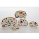 Großhandel Taschen & Reiseartikel:-Kosmetiktaschen Set im Retro-Design