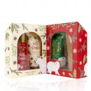 Bath set HELLO WINTER in gift box