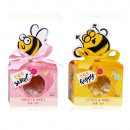 Bath salt BEE HAPPY in a gift box