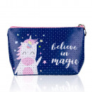 wholesale Bags & Travel accessories: Cosmetic bag UNICORN - BELIEVE IN MAGIC
