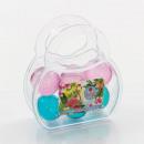 groothandel Handtassen: Handtas  transparante  gevuld met 6 ...