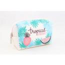 groothandel Reisartikelen: Kleine make-up tas tropische vakantie