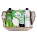 Bath set NATURAL SPA in sea grass basket