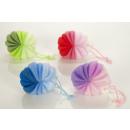 mayorista Otro: Esponja de malla  multicolor en forma de anillo
