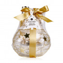 wholesale Room Sprays & Scented Oils: Bath set WINTER MAGIC in a wire basket