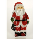 Santa Claus en  forma de cristal de plato