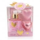 Bath set HEARTS in gift box