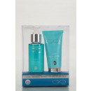 Travel set with  shower gel and body lotion
