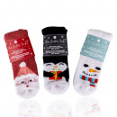 wholesale Stockings & Socks: Cuddly Socks SANTA & CO