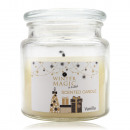 Scented candle WINTER MAGIC in glass with lid