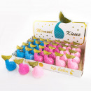 Lip Balm MERMAID KISSES in fin-shaped box