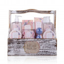 Gift set SECRET GARDEN in wooden box