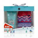 ALPINE CHIC bath set in a gift box