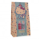 wholesale Scarves, Hats & Gloves: Bath set Hello Kitty - WINTER CHRISTMAS in gift