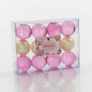 Kleine Geschenk-Box gefüllt mit 12 Badeperlen