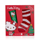 wholesale Socks and tights: Foot care set Hello Kitty - HAPPY CHRISTMAS in ...