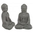 Cement figure Buddha