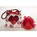 groothandel Badmeubilair & accessoires: Badset ROOD NAM in gift bag