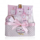 Gift set Princess KITTY in basket