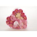 wholesale Shower & Bath:Bath Confetti Rose