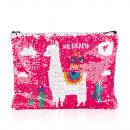 Sequin cosmetic bag LAMA