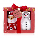 wholesale Gift Wrapping: Bath set SANTA & CO in a gift box