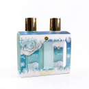 wholesale Artificial Flowers:Bath set SNOW ROSE
