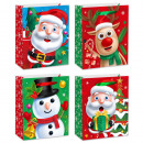 Paper bag size S Christmas Kids