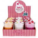 groothandel Kaarsen & standaards:Geurkaars ijs in glas