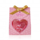 Mini shower gel heart Just for you in a gift box