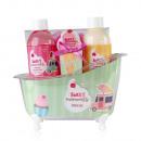 wholesale Bath Furniture & Accessories: SWEET MOMENTS bath set in plastic bathtub