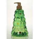 Pump dispenser in Christmas tree shape