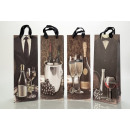 Wine gift paper bag FOR MEN