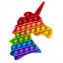 ingrosso Giocattoli: Antistress Bubble Pop IT Arcobaleno (unicorno)