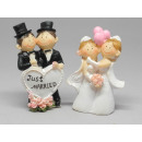 Bridal couple same-sex funny 9cm