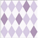Napkin Harlequin purple