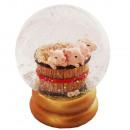 grossiste Boules de neige:Snowglobe Pig