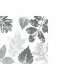 groothandel Tafellinnen: Servet Hyde Park  houtskool 25cm x 25cm