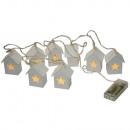 grossiste Maison et habitat: chaîne légère LED cabane en bois