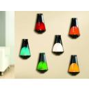 Großhandel Lampen: Wandleuchter Kamin  Metall 10cm x 9cm x 16cm