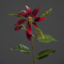 grossiste Fleurs artificielles:Poinsettia Noël x2