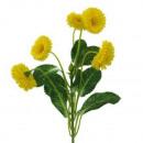 Großhandel Sonstige:Bellis 26cm gelb