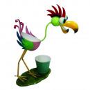mayorista Plantas y macetas: Plant pájaro titular de la olla